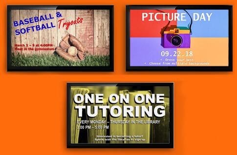 Education Signage