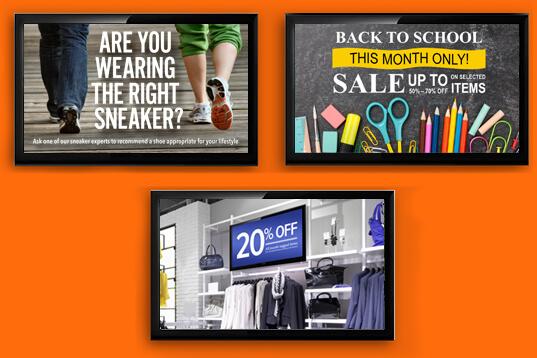 Consumer Shopping Signage