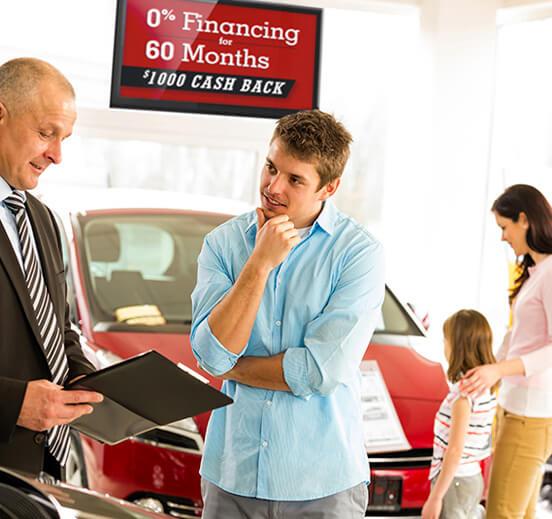 Automotive Digital Signage Solution